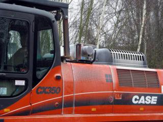 CAS-CX 350 R Bagger (1)